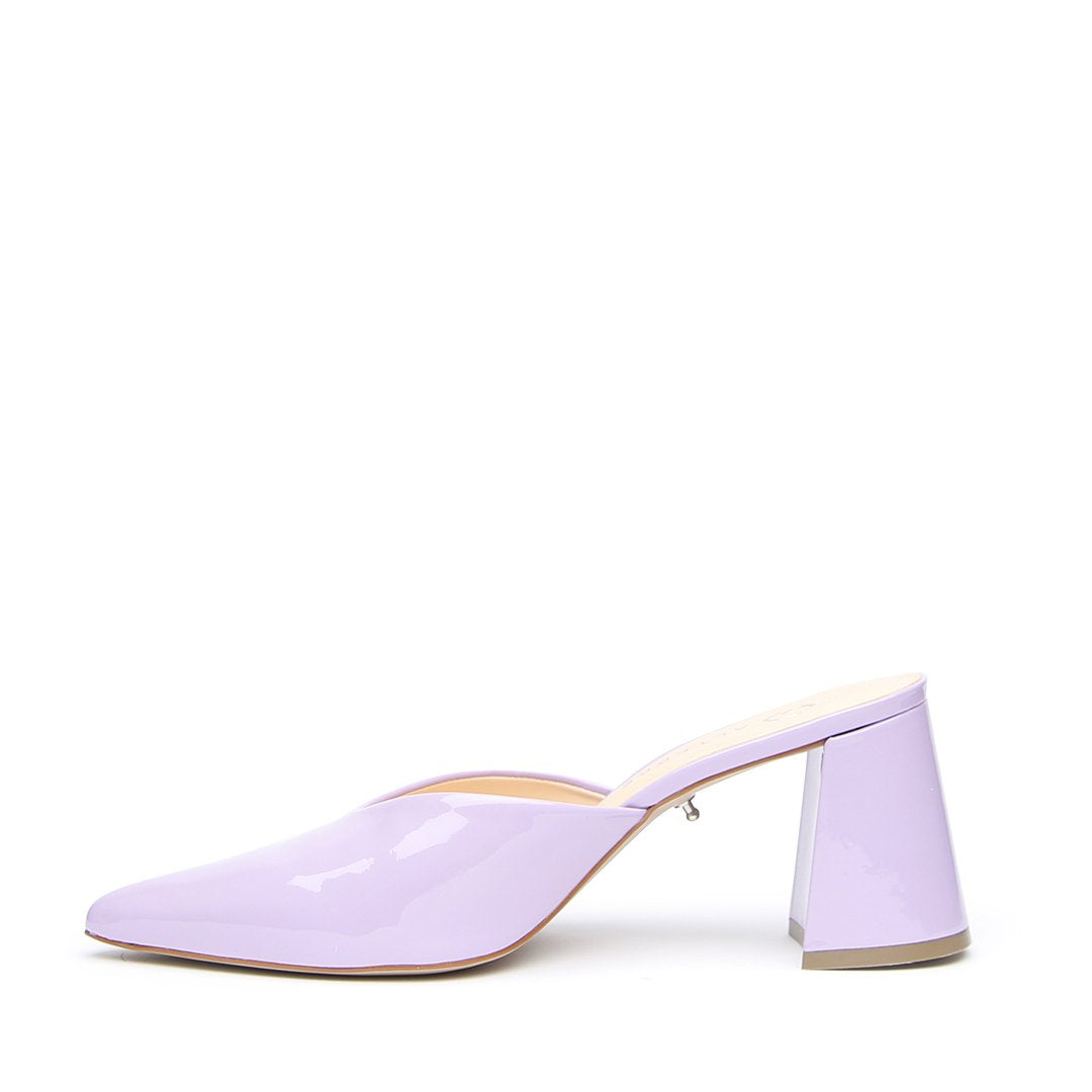 Lilac Gloss V Mule  | Alterre Create Your Own Mule - Sustainable Footwear Brand & Ethical Shoe Company