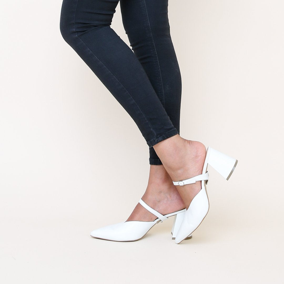 White Twiggy Strap | Detachable Strap - Alterre Sustainable Footwear Brand & Ethical Shoe Company