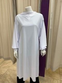 SURGICAL GOWN WHITE M/L LIGHTWEIGHT FABRIC IN PAK OF 6