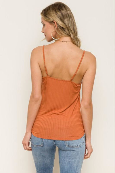 Lettuce Edge Ribbed Tank Top 3 Colors