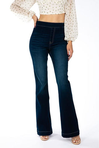 Sophia High Rise Bellbottom Flare Kancan Jeans