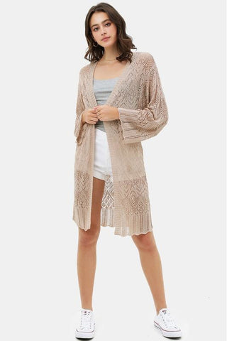 Bell Sleeve Cardigan 3 Colors