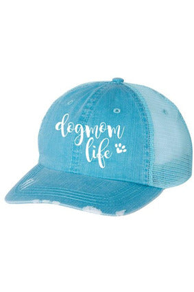 Dogmom Life Embroidered Hat