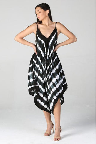 Black & White Harem Jumpsuit