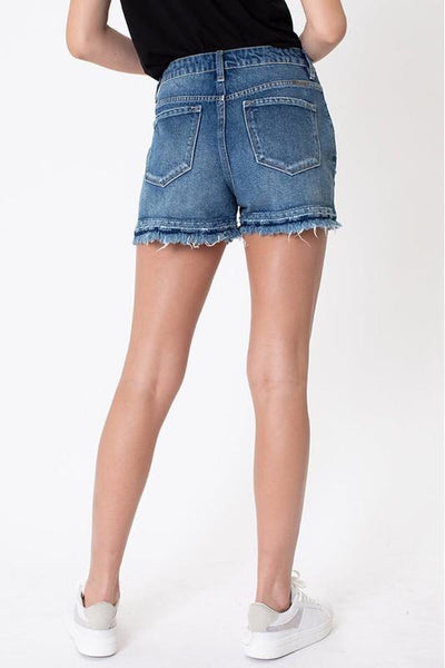 Terry Super High Rise Kancan Shorts