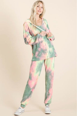 Tie Dye French Terry Lounge Set
