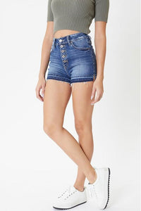 Becky High Rise Kancan Shorts