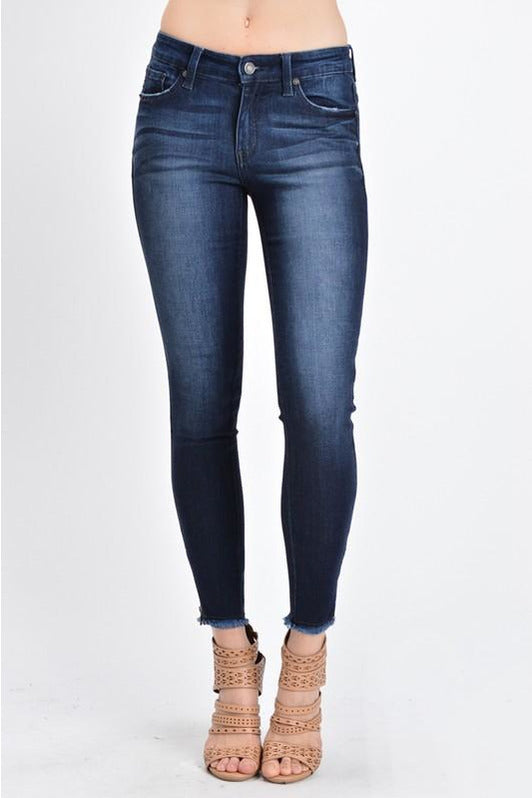 KANCAN ANKLE SKINNY MID-RISE JEAN