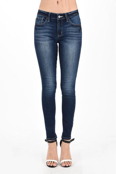 KANCAN SUPER SKINNY MID-RISE JEAN - Classic Trendz Boutique