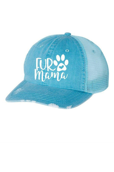 Fur Mama Embroidered Trucker Hat