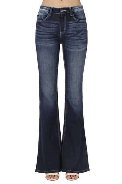 Felicia Mid Rise Bootcut Kancan Jeans
