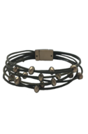 Forever Linked Antique Leather Bracelet - Classic Trendz Boutique