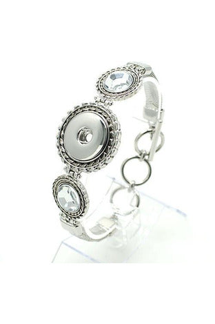 Glimpse of Glamour Bracelet - Trendz Snap Jewelry