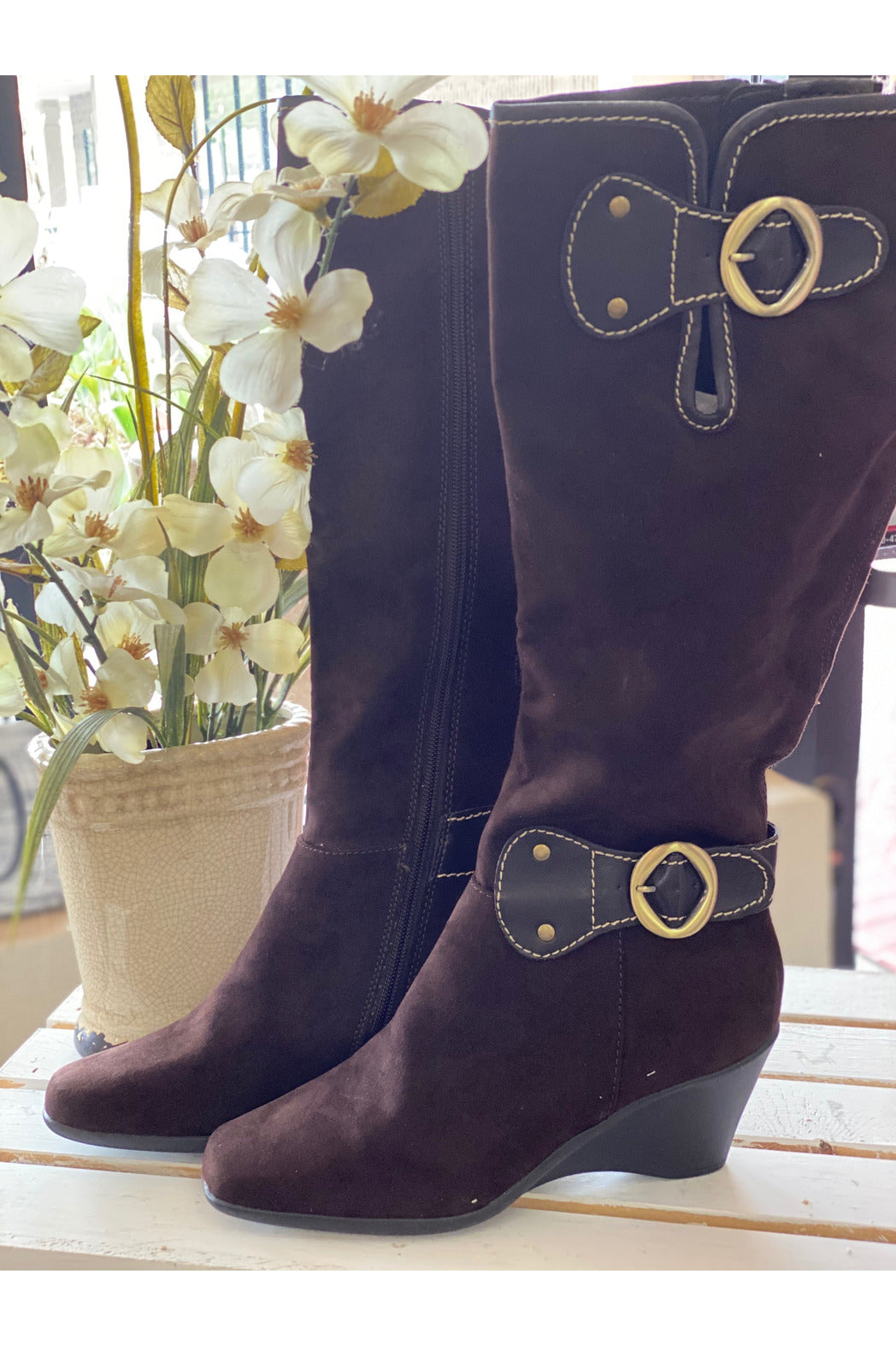 Brown Aerosoles Tall Boot