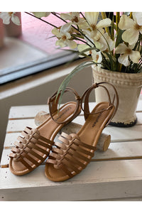 Brown Strapy Sandal