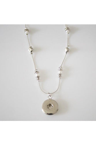 Pearl Accent Necklace - Trendz Snap Jewelry