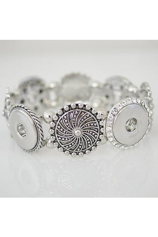 Officially Glam Designed Bracelet - Trendz Snap Jewelry