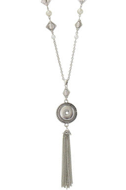 Out of the Ordinary Tassel Detailed Necklace - Trendz Snap Jewelry