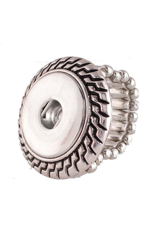 Aztec Stretch Ring - Trendz Snap Jewelry