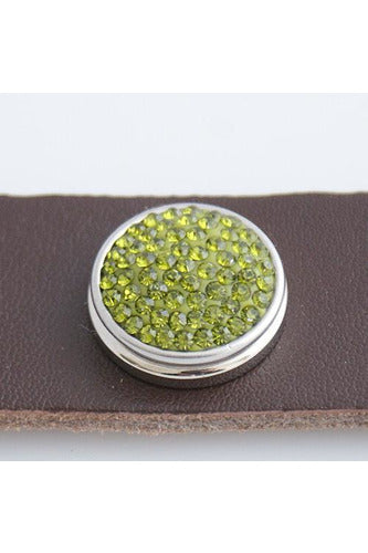 Grand Entrance Chartreuse Snap - Trendz Snap Jewelry