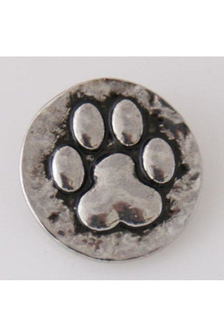 Paw-Perfect Silver Snap - Trendz Snap Jewelry