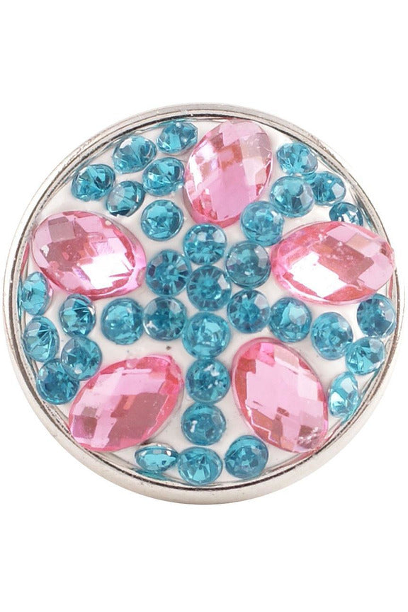 My Beloved Pink and Blue Snap - Trendz Snap Jewelry
