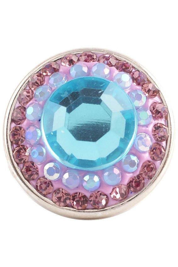 Sleek And Snappy Blue and Pink Snap - Trendz Snap Jewelry