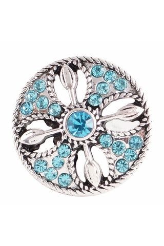 Everyday Favorite Blue Snap - Trendz Snap Jewelry