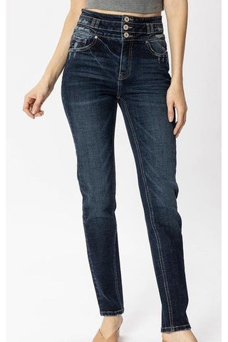 Veronica Kancan Relaxed Fit Skinny Jeans