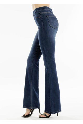Lisa High Rise Bellbottom Flare Kancan Jeans