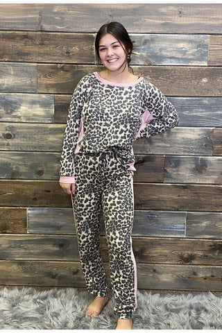 Leopard Thermal Lounge Set