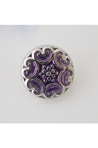 Petite Tell A Tale Purple Snap - Trendz Snap Jewelry