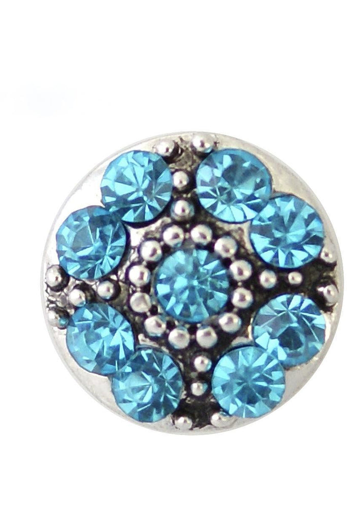 Petite Creative Touch Blue Snap - Trendz Snap Jewelry