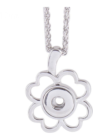 Lucky in Love Clover Necklace - Trendz Snap Jewelry