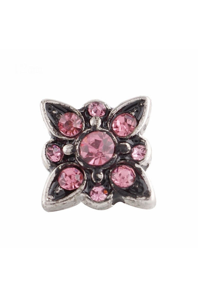 Petite Make It Snappy Pink Snap - Trendz Snap Jewelry