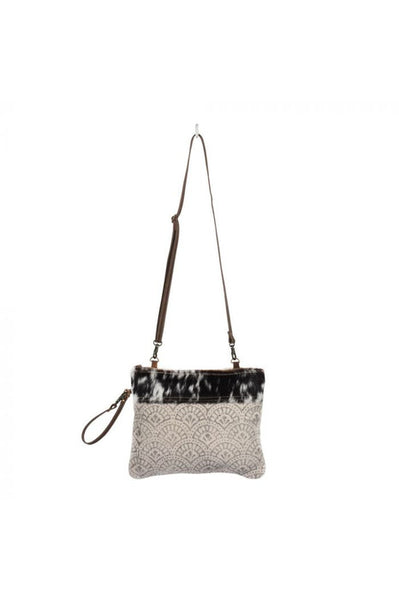 Sylvia Canvas & Leather Crossbody Handbag