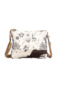 Carly Canvas & Leather Crossbody Handbag
