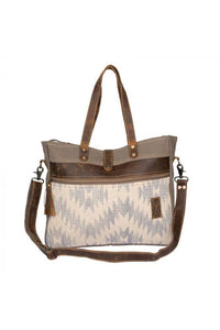 Charming Brown Weekender Bag