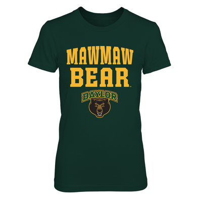 Baylor Bears - Mawmaw Bear - Next Level Women's Junior Fit Premium T-Shirt - Official