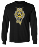 Sugar Skull Owl - Iowa Hawkeyes