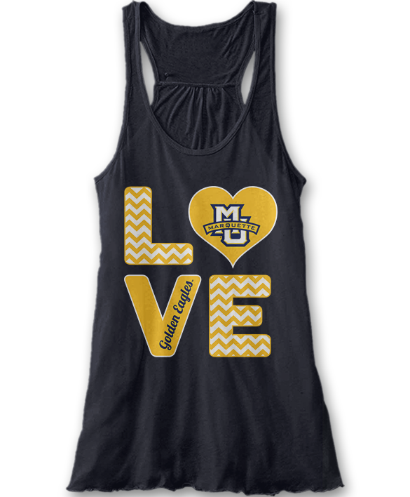 Stacked Love - Marquette Golden Eagles