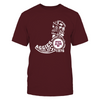 Texas A&M Aggies - Landmark Custom Boots - T-Shirt - Officially Licensed Apparel