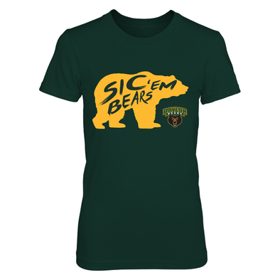 Baylor Bears - Slogan Inside Mascot - T-Shirt - Officially Licensed Apparel