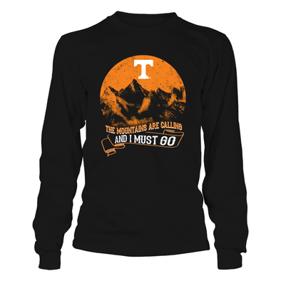 Tennessee Volunteers - The Mountains Are Calling Full Moon - T-Shirt - Official