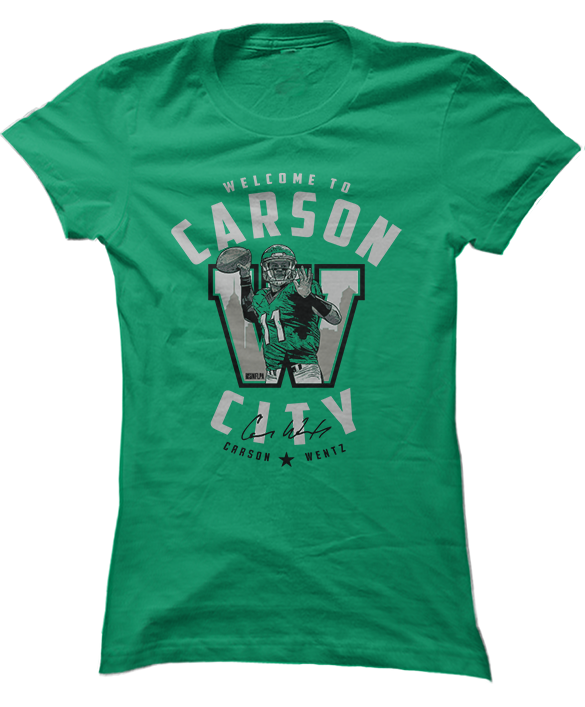 Welcome To Carson City - Carson Wentz