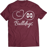 Infinite Heart - Mississippi State Bulldogs