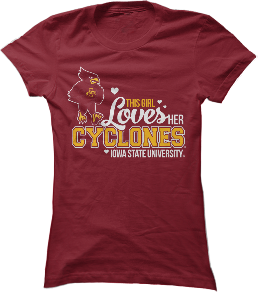 Iowa State Cyclones - This Girl Loves