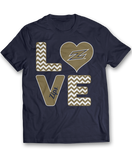 Stacked Love - Akron Zips