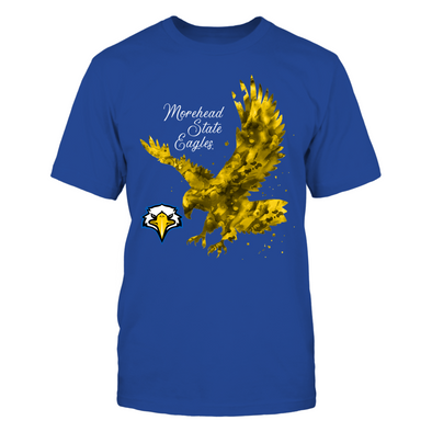 Morehead State Eagles - Color drop mascot - T-Shirt - Officially Licensed