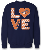 Stacked Love - Bucknell Bison
